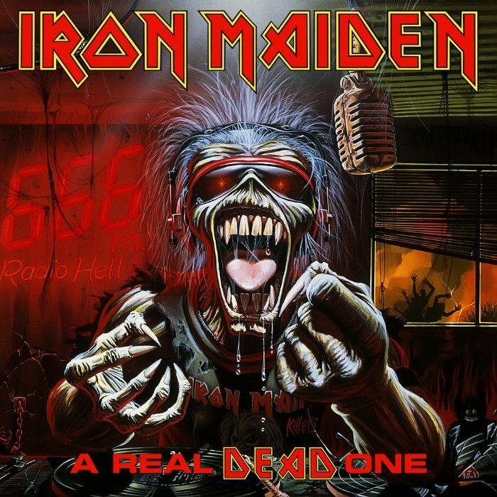iron maiden - A Real Dead One