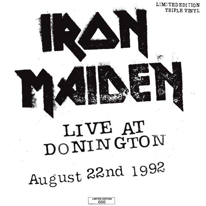 iron maiden - Live at Donington: August 22nd 1992
