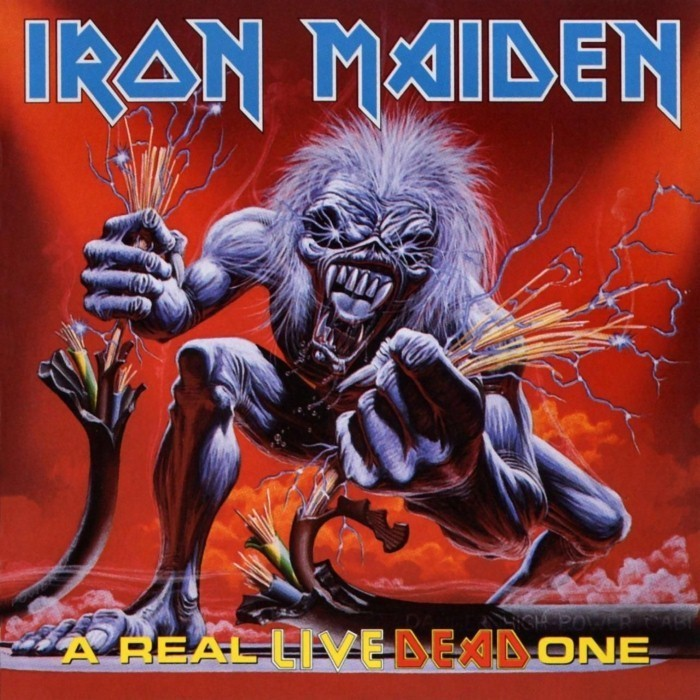 iron maiden - A Real Live Dead One