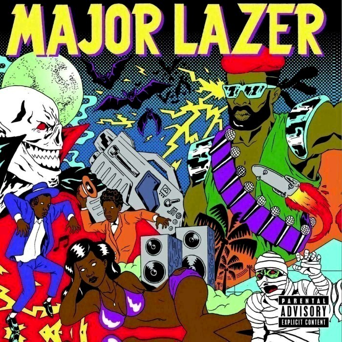 Major Lazer - Guns Don